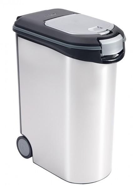 Futtertonne 20kg 54 Liter silber metallic jetzt günstig kaufen