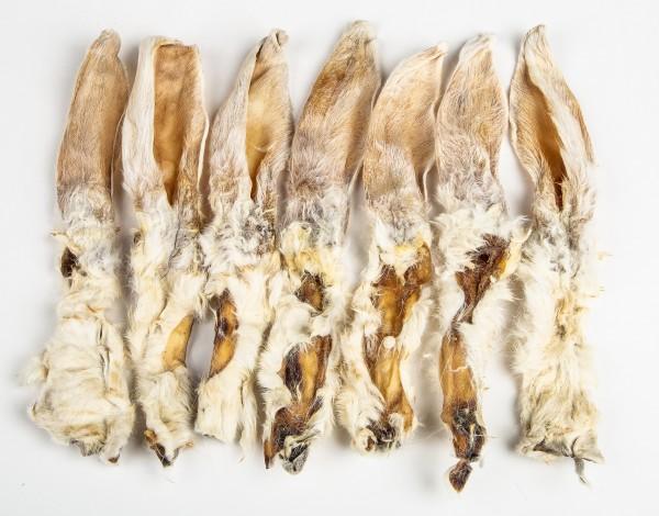 Kaninchenohren mit Fell 100g Kauartikel für Hunde online kaufen