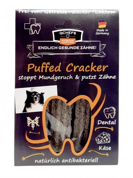 Kaustangen Zahnpflege Hund Puffed Cracker Hüttenkäse natürlich antibakteriell 75g