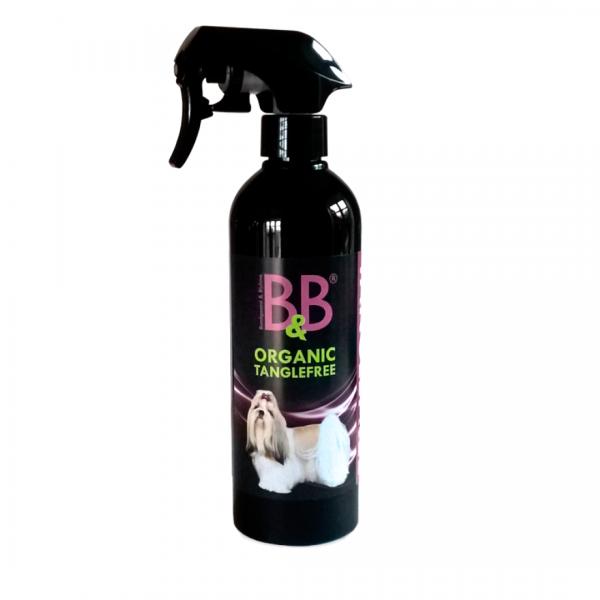 B&B Organic Tanglefree Effektiv gegen Verfilzung im Fell