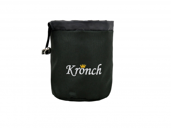 dunkelgrüner Snacktasche von Kronch für Hundesnacks kaufen