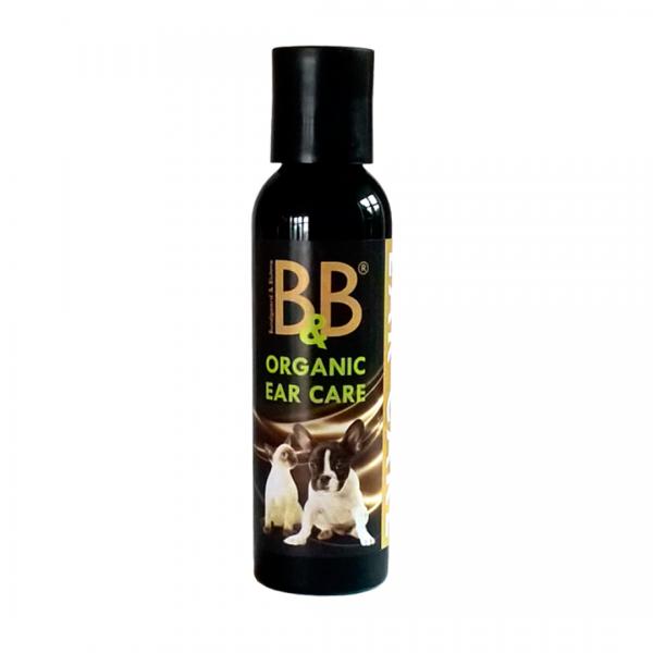 B&B Organic Ear Care Ohrenpflege für Hunde 100ml bestellen bei Henne Pet Food