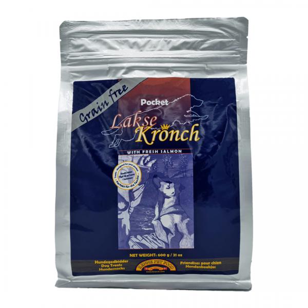 Kronch Lakse Kronch Pocket 600g Hundesnacks mit Lachs und Kartoffel