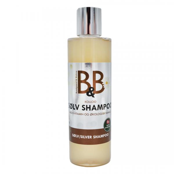 B&B Silbershampoo 250 ml mit Silberwasser und Kamille antibakterielles natürliches Hundeshampoo kaufen