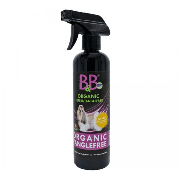 B&B Tanglefree Anti-Filz-Spray gegen Verfilzungen im Fell bei Hunden und Katzen 500 ml