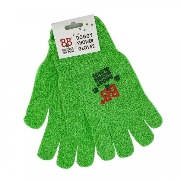 Waschhandschuhe B&B in grün elastisch für Hunde und Katzen online kaufen