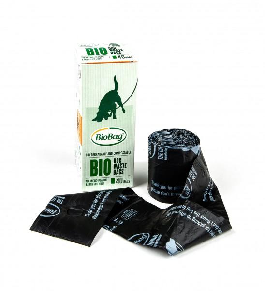 kompostierbare Hundekotbeutel von BioBag 40 Stück bei Henne Pet Food kaufen