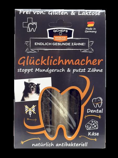 QCHEFS Glücklichmacher Zahnpflege für Hunde 90g jetzt günstig kaufen