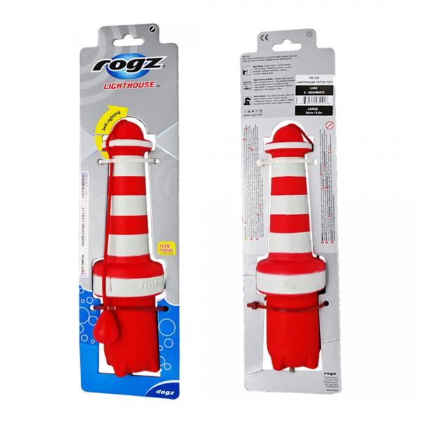 Hundespielzeug rogz Leuchtturm Wasserspielzeug für Hunde kaufen