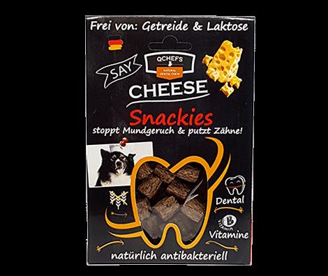 QCHEFS Snackies 65g Zahnpflege Kausnack für Hunde bei Henne Pet Food bestellen