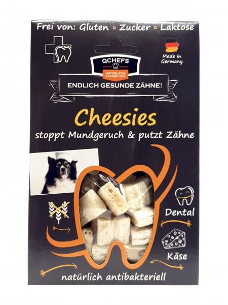 QCHEFS Cheesies 65 g Zahnpflege für Hunde mit Hüttenkäse und Reis gegen Mundgeruch kaufen