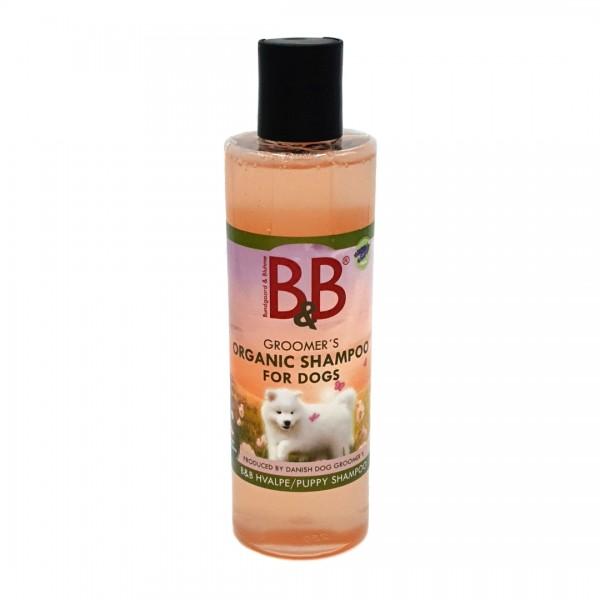 B&B Organic Puppy Shampoo natürliches Welpenshampoo 250 ml kaufen