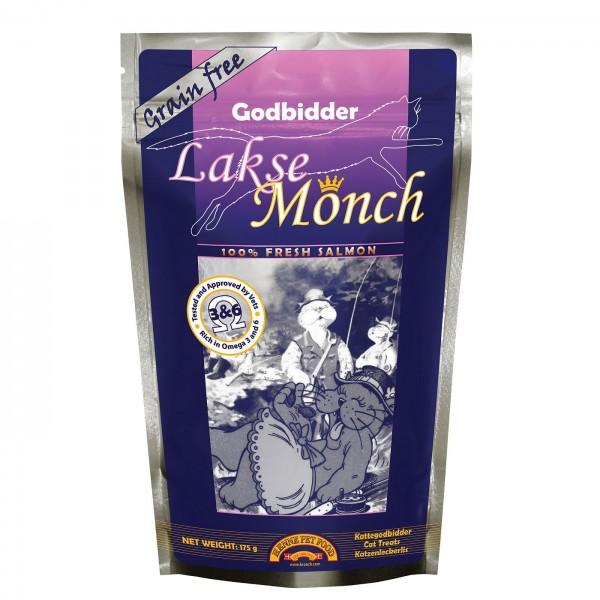 Katzen Snack mit Lachs 175 g Lakse Monch, Getreidefreier Snack kaufen